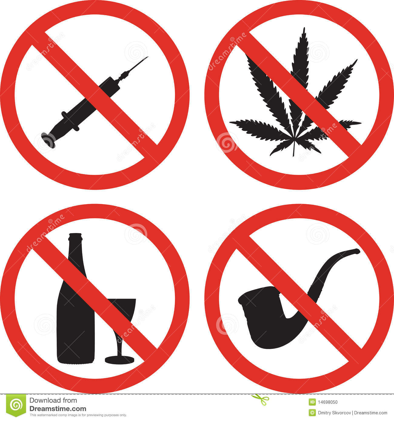 vector-illustration-of-four-signs-bad-habits-1475746