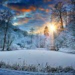 Зимнее дыхание природы.