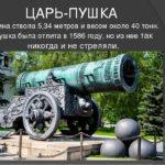 Царь-пушка: история и легенды (к 435-летию со времени изготовления А. Чоховым)